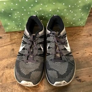 Nike Flyknit Lunar One+ Gray Shoes Sneakers 7.5